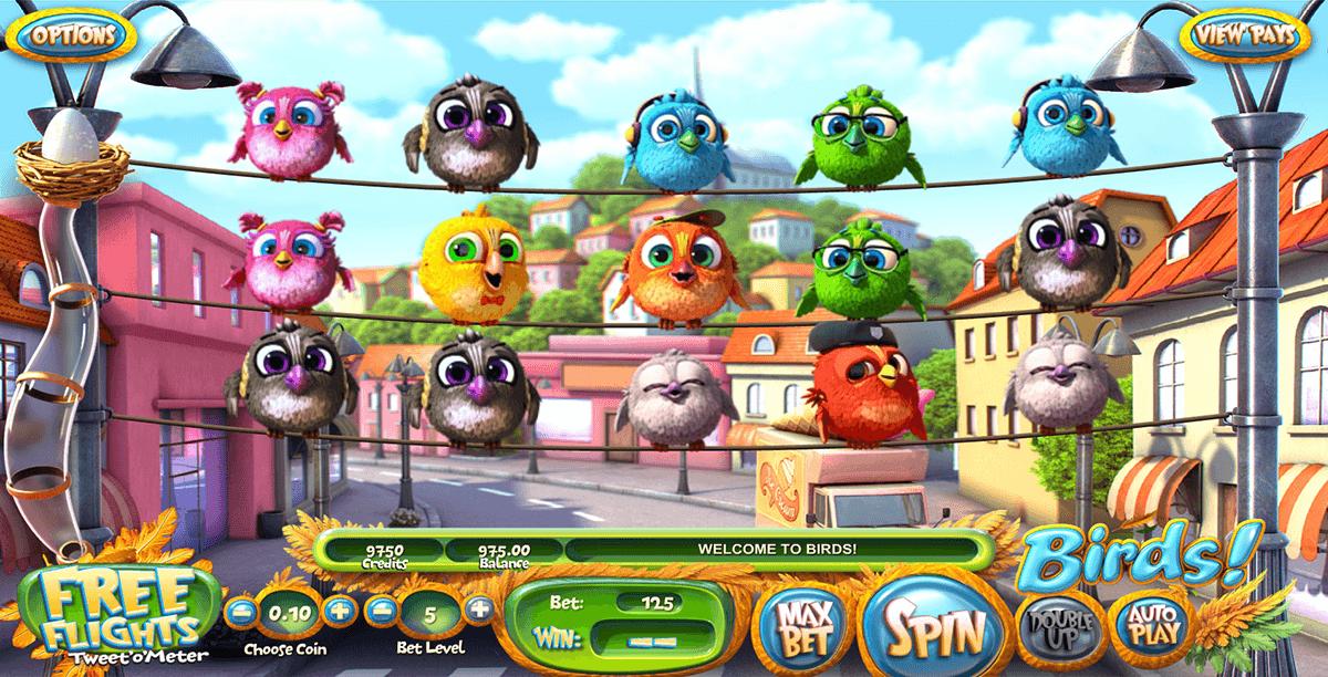 Juegos en un casino tragamonedas Gratis Happy Birds - 60221