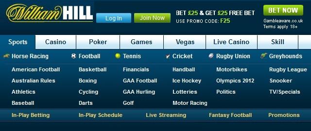 William Hill Sports deposito 888 poker - 88667