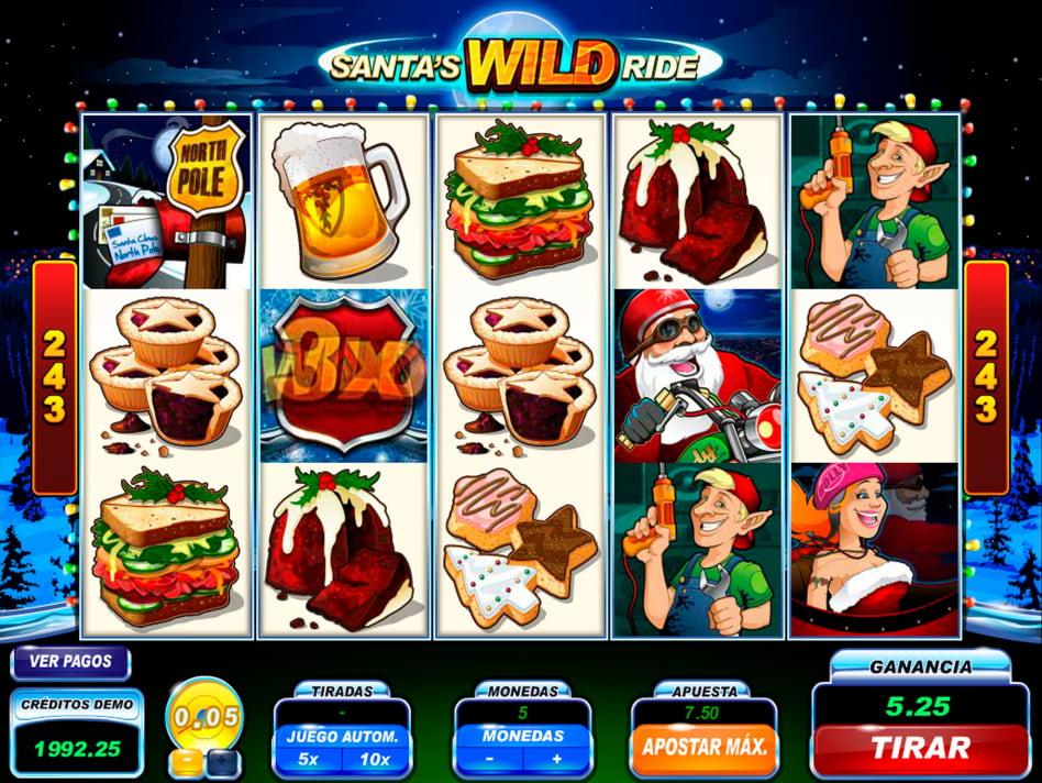 Tiradas gratis Santa's WildRide casino bingo online - 32507
