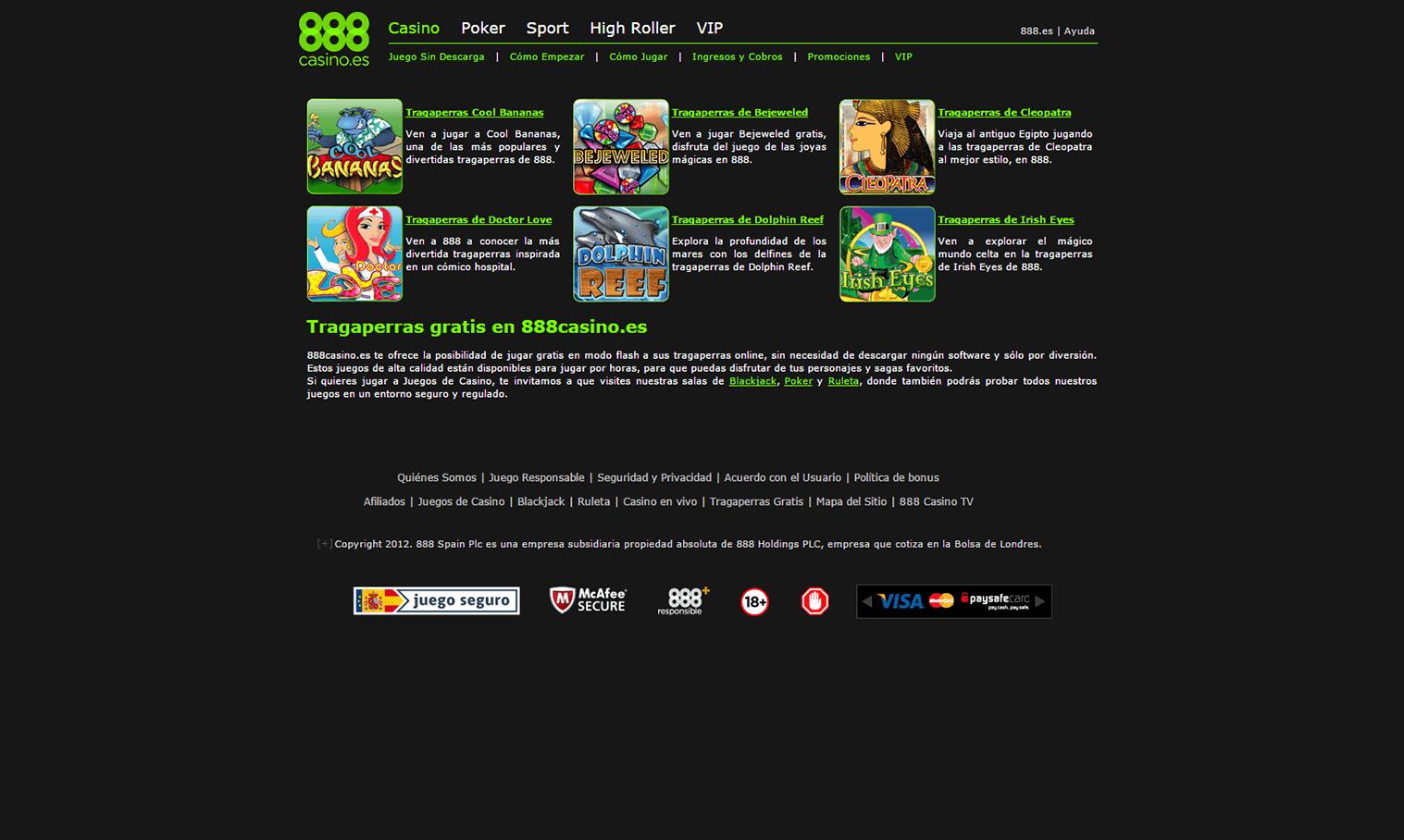 Móvil app 888casino es juegos house of fun - 47103