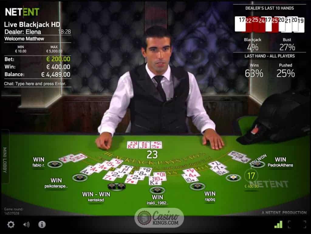 Blackjack veintiuno exactamente netent casino - 9773
