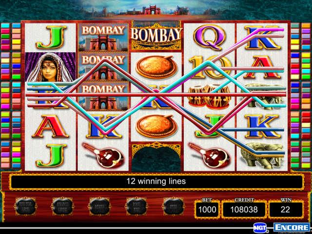 Tragamonedas gratis bombay casino IGT - 47425