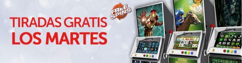 Tiradas gratis en Chile casino con bonus sin deposito - 90496