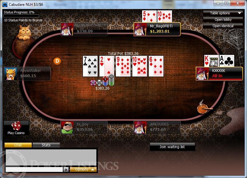 La mejor sala de poker online crazyPoker sin depósito - 68739