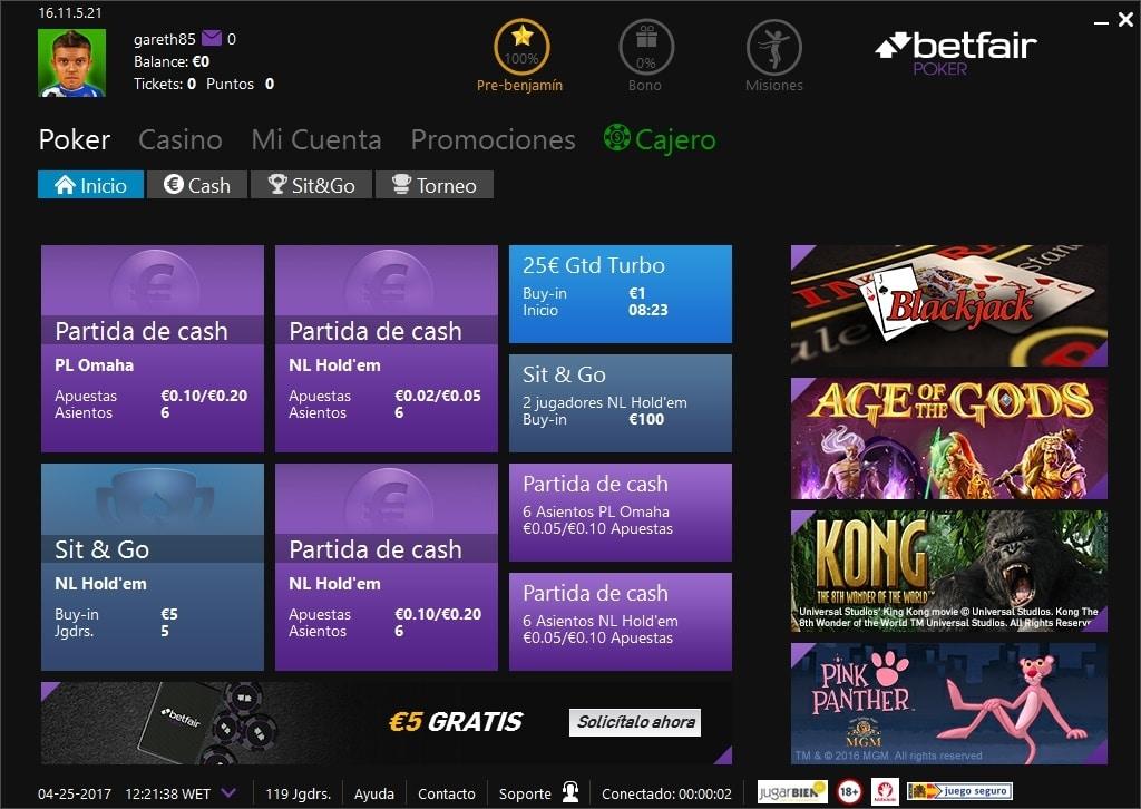 Como ingresar dinero en betfair gana millón euros en poker - 44447
