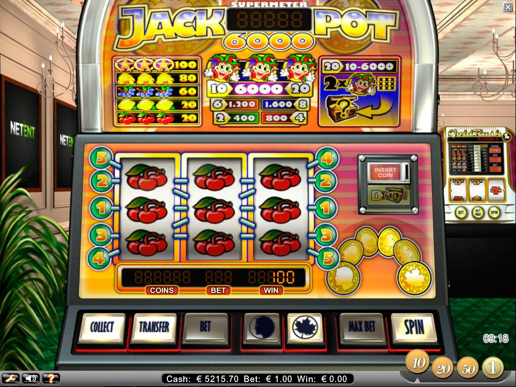Juegos tragamonedas jugar con maquinas Monte Carlo - 23394