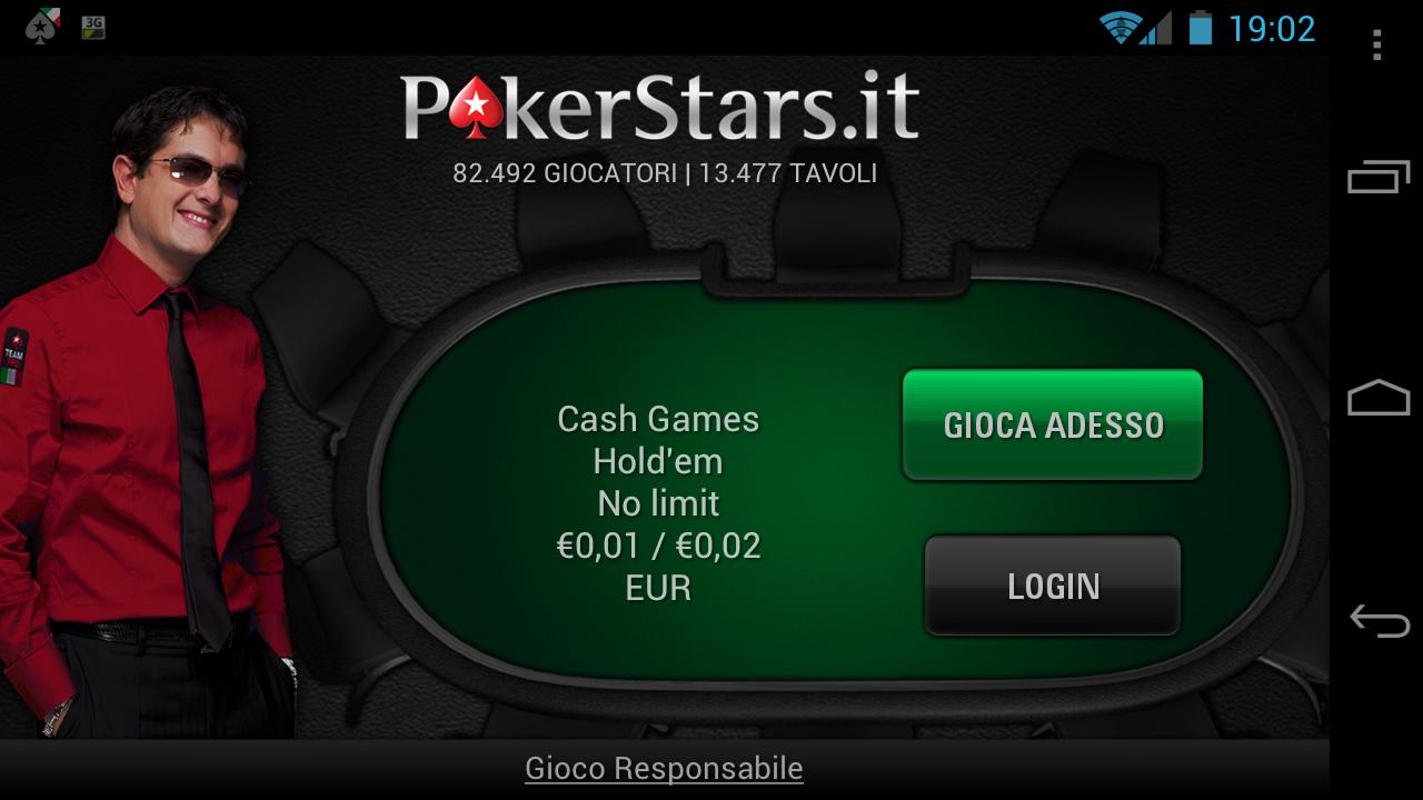 Pokerstars login casino Consiga - 76614