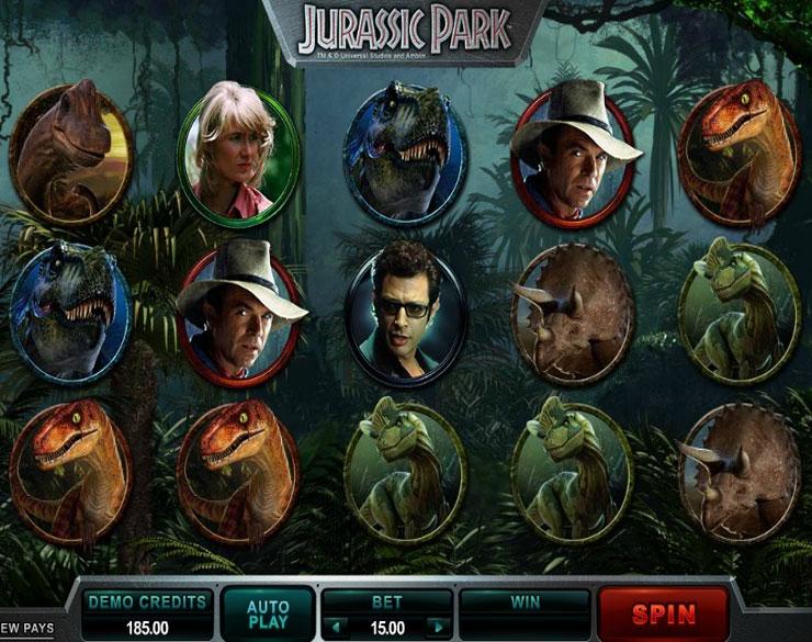 Como ganar en la ruleta del casino real opiniones tragaperra Jurassic Park - 10234