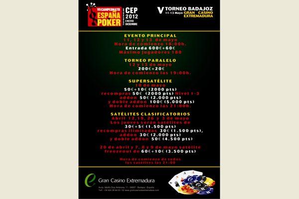Normas casino Portugal poker en vivo - 47149