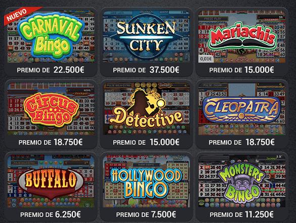 Bingo gratis online los mejores casino Juárez - 60258