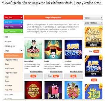 Botemania ganadores juegos de OpenBet - 6727