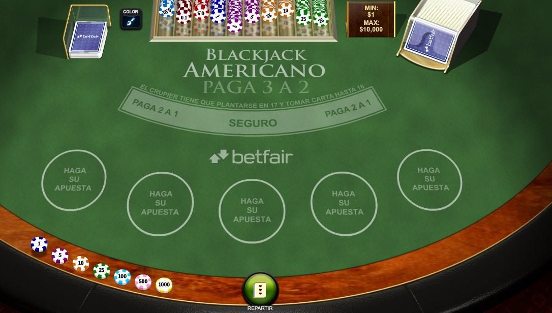 Reglas blackjack americano - 12486