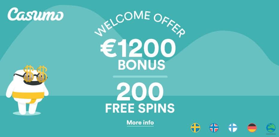 Casino bonus no deposit required juegos Thunderkick Casumo - 80201
