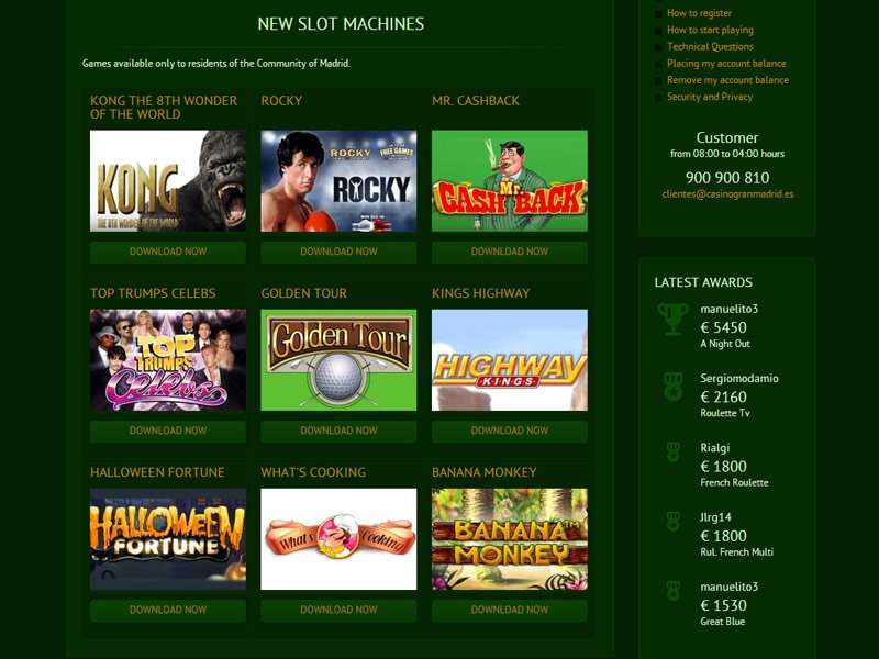 Casino online madrid - 42394