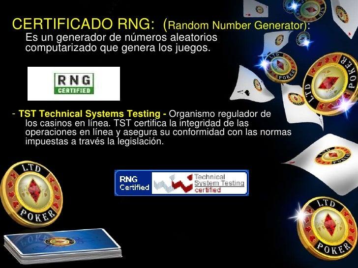 Casino Online Internacional ley de juegos de azar - 74919