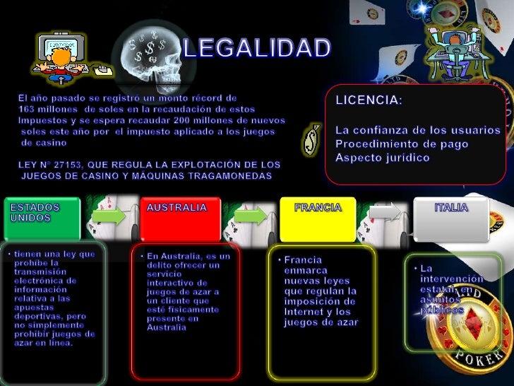 Casino Online Internacional ley de juegos de azar - 11129