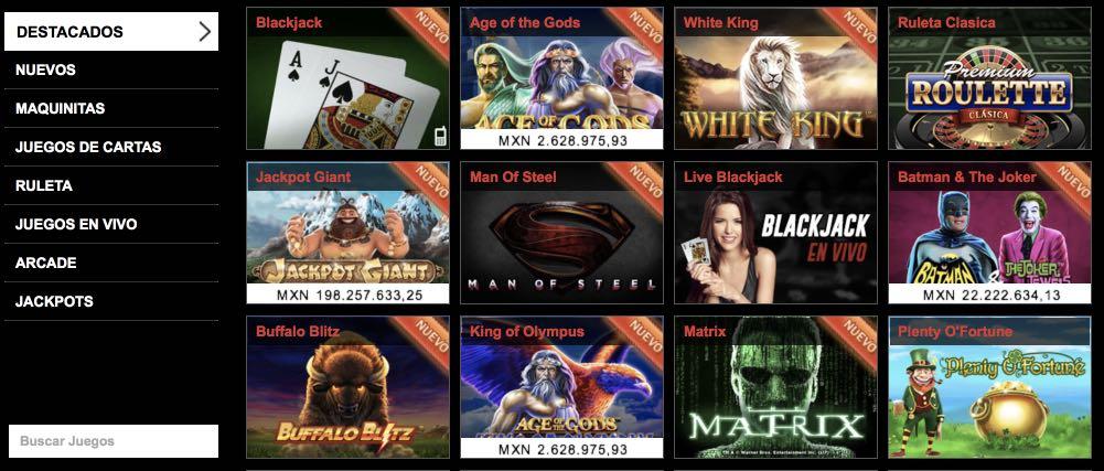 Casa de apuestas casino online Mexico City opiniones - 92258