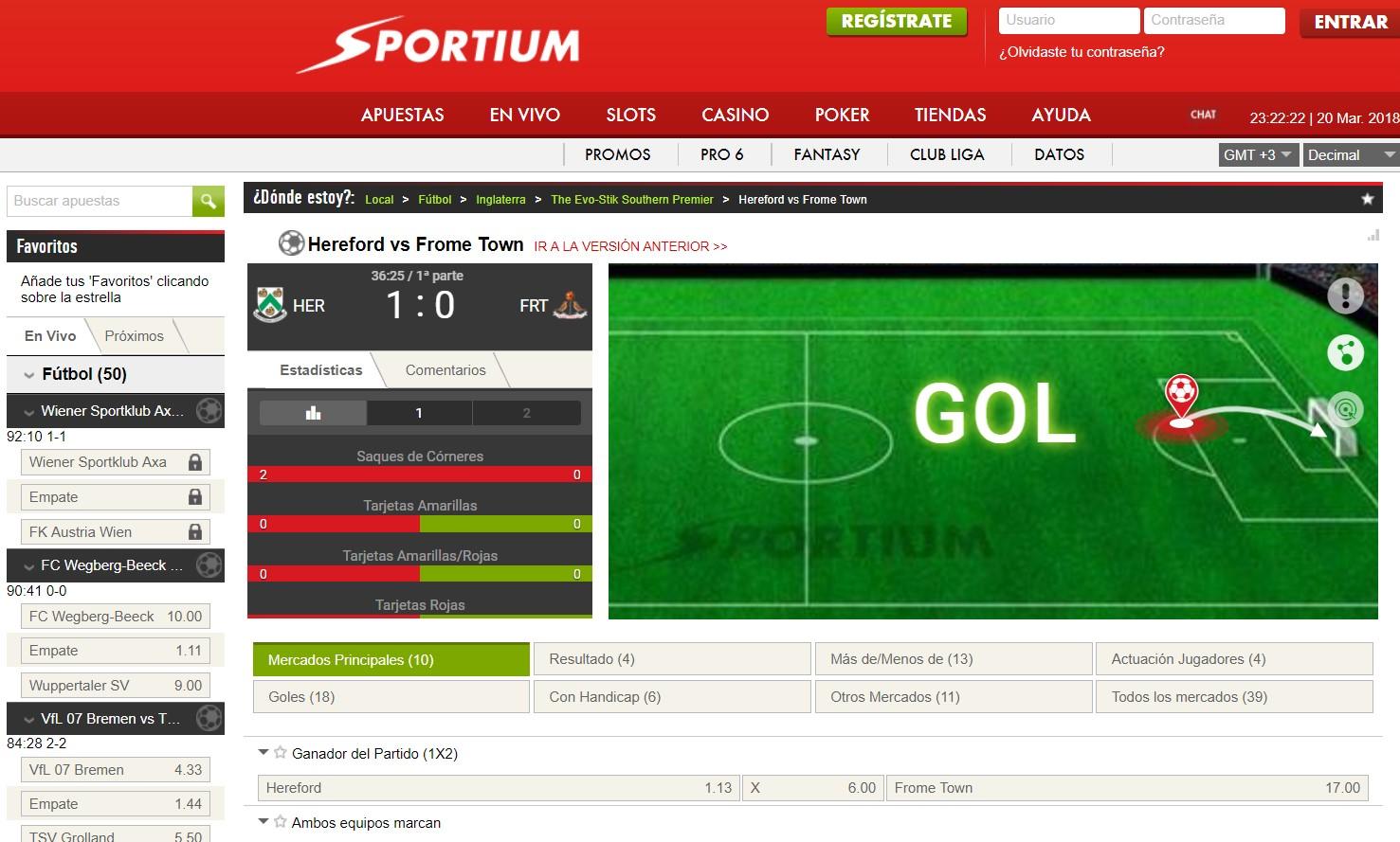 Sportium casino con - 86590