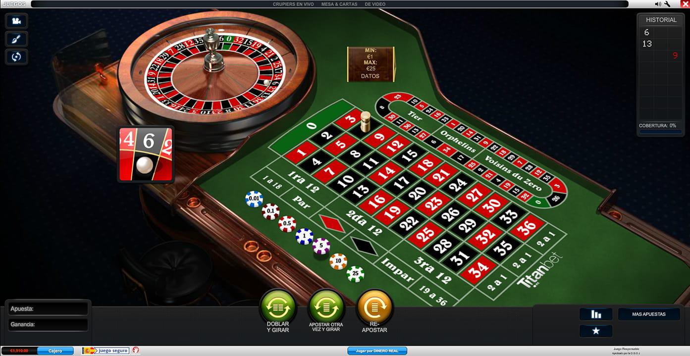 Ruleta casino mejores Portugal - 58313