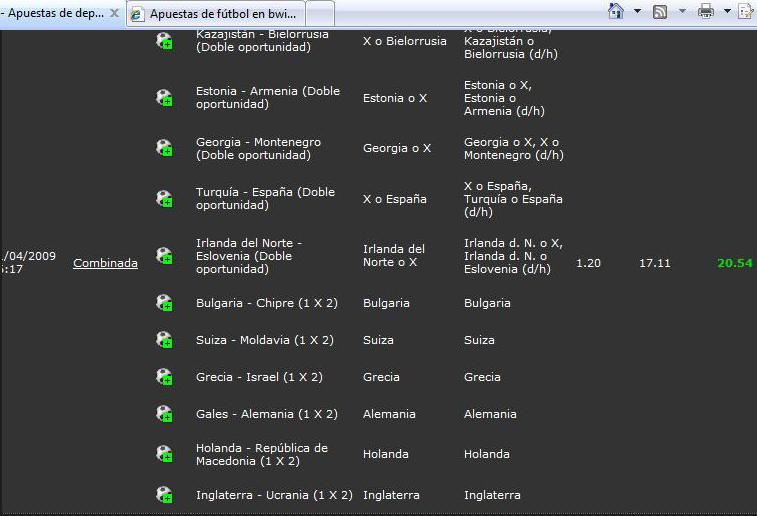 Jugadores portugueses diferencia entre apuesta simple y multiple - 76952