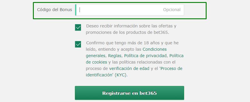 Bono de registro - 53727