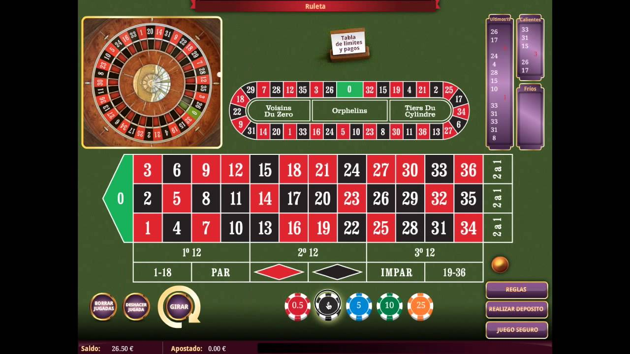 Mejores casas de apuestas regalo ruleta - 47312