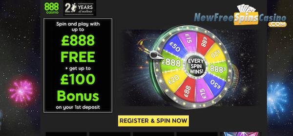 888 casino en vivo no Deposit Bonus - 80146