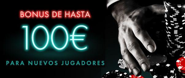 Bet365 100€ bonos poker españa - 43574