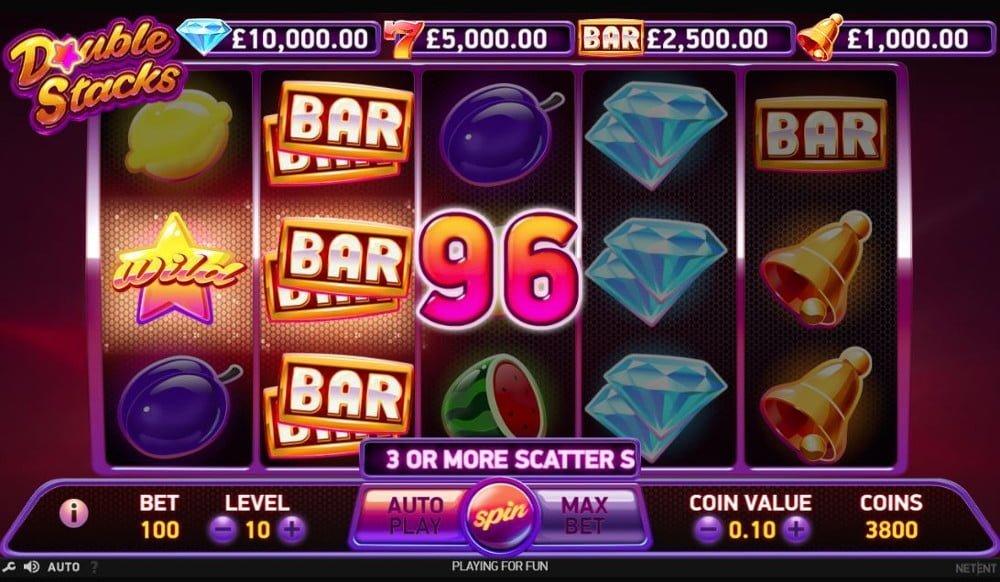 Double stacks netent webMoney casino - 42373
