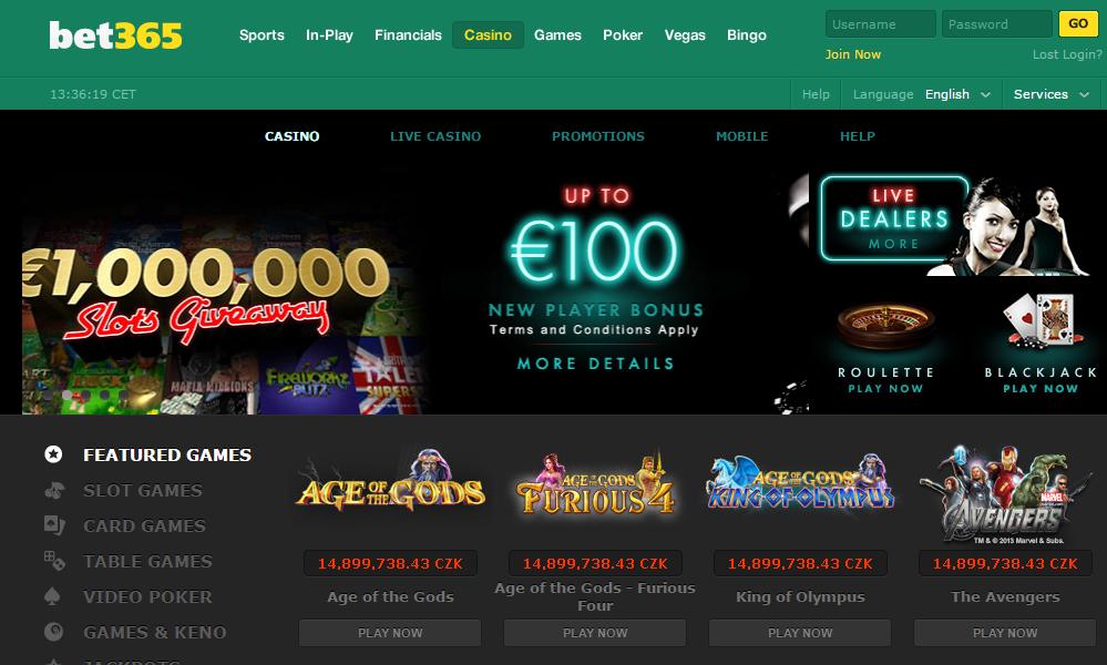 Live casino bet365 - 42813