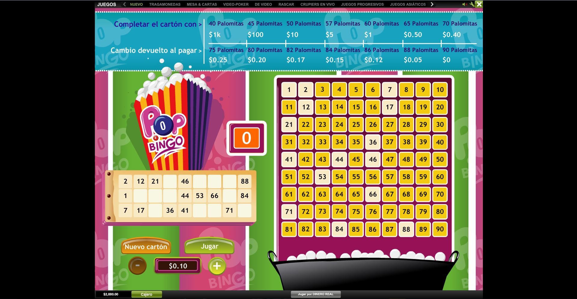 88 fortunes trucos juegos Playtech NetEnt - 8989