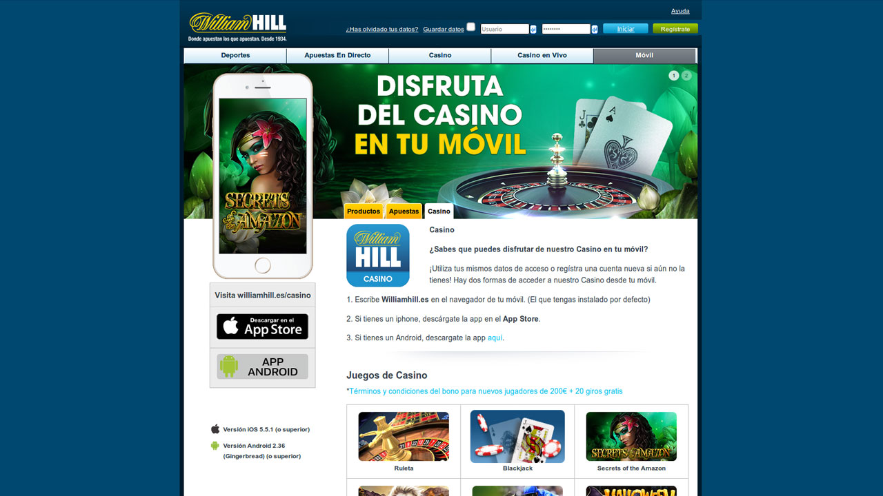 Gratis casinoLive247 com william hill international - 96672