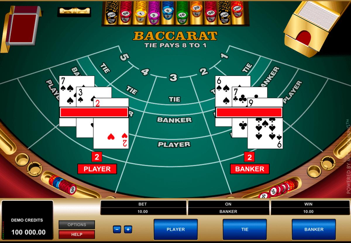 Casino Euro Palace baccara online - 25130