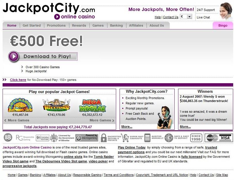 Jackpot City casino impuestos por ganancias en casinos - 43911