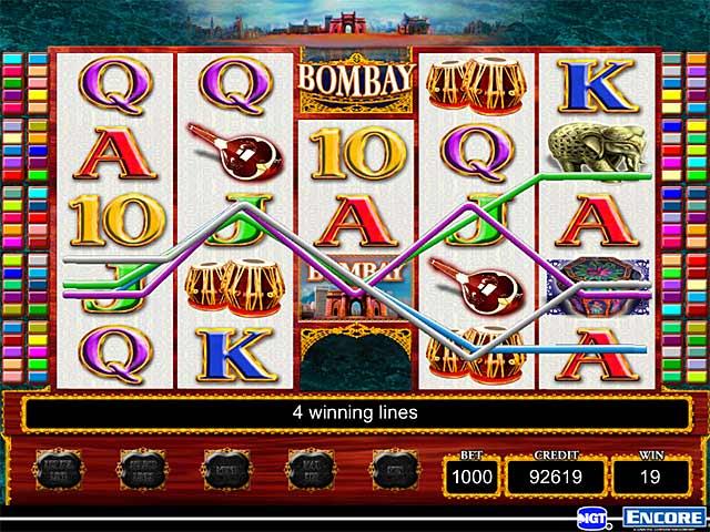 Tragamonedas gratis bombay casino IGT - 17458