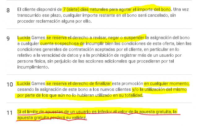 Luckia apuesta online bono sin deposito casino Antofagasta - 85394