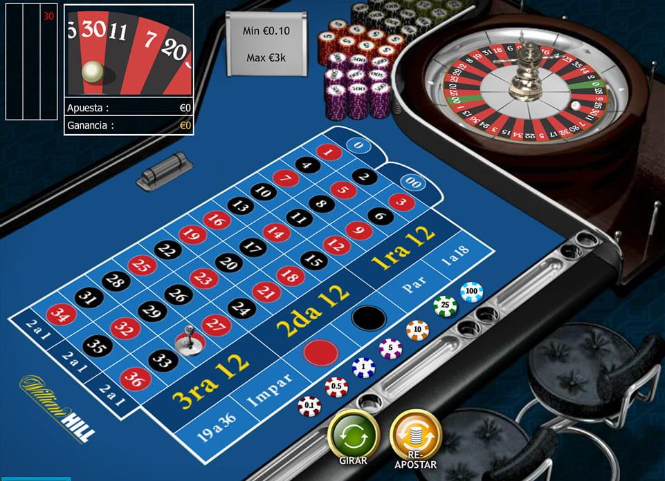 William Hill es tabla de ruleta - 54967