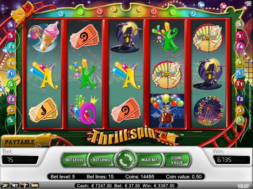 Tragamonedas Gratis Thrill Spin buscar juegos de casino - 82644