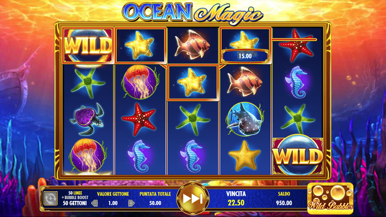 Probabilidades de apuestas deportivas tragamonedas Gratis Ocean Magic - 33915