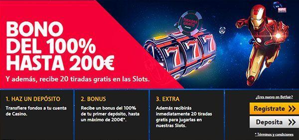 Tragaperras bono 100€ 888 poker - 23993