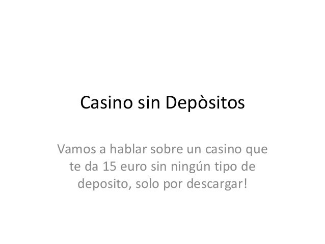 Casino sin deposito - 36828