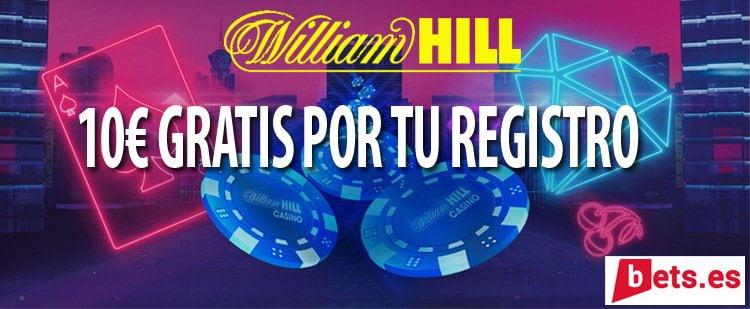 Casino william hill gratis online Barcelona bono sin deposito - 47800
