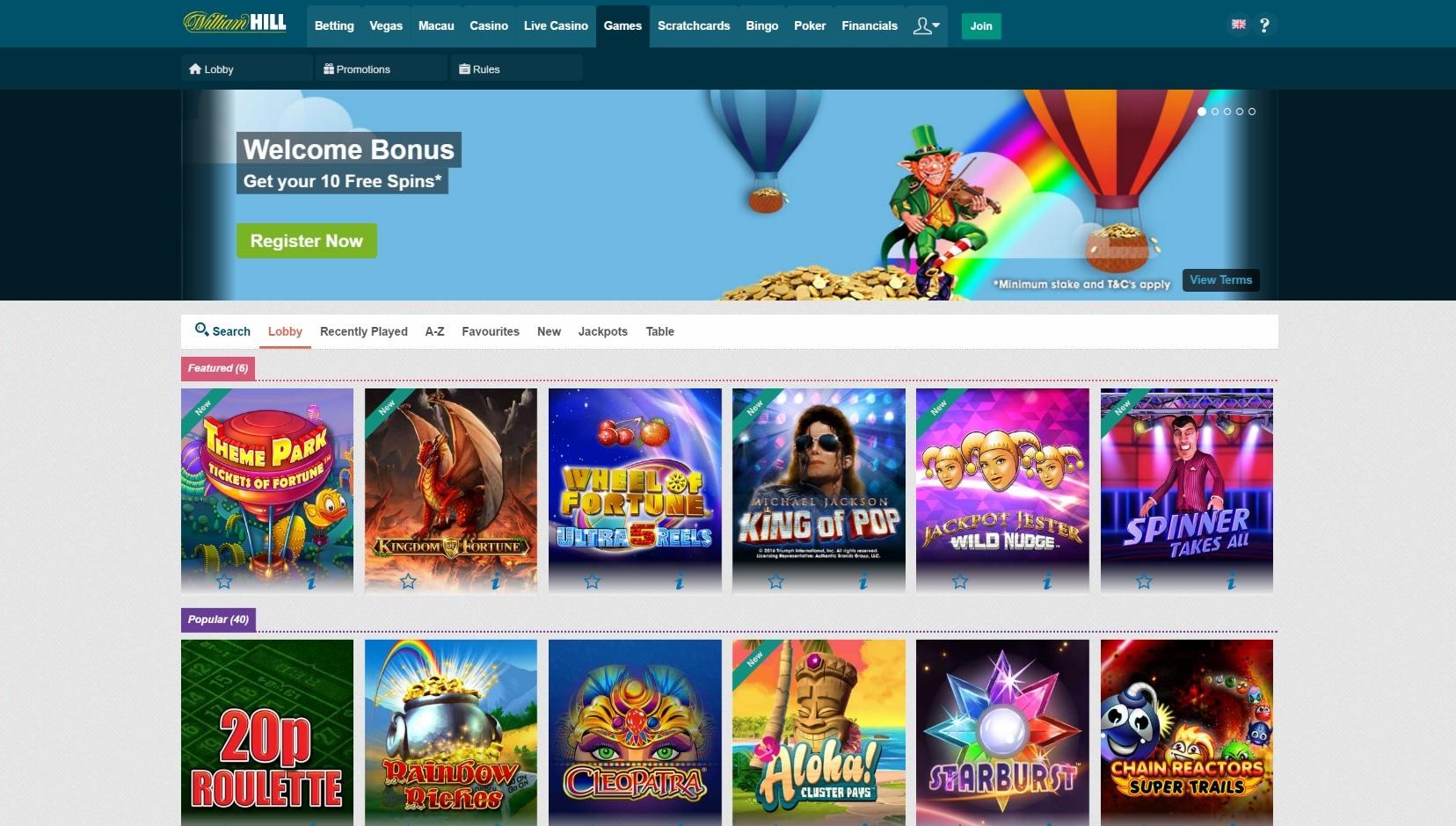 Casino William Hill pokerstars net sites - 29572