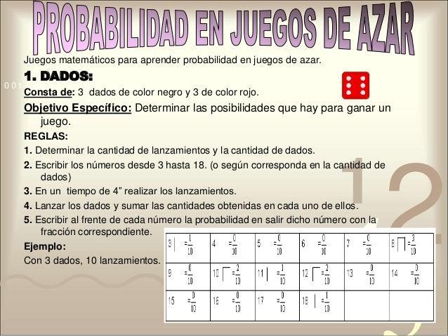 Casino777 es juegos de azar y probabilidad - 67008