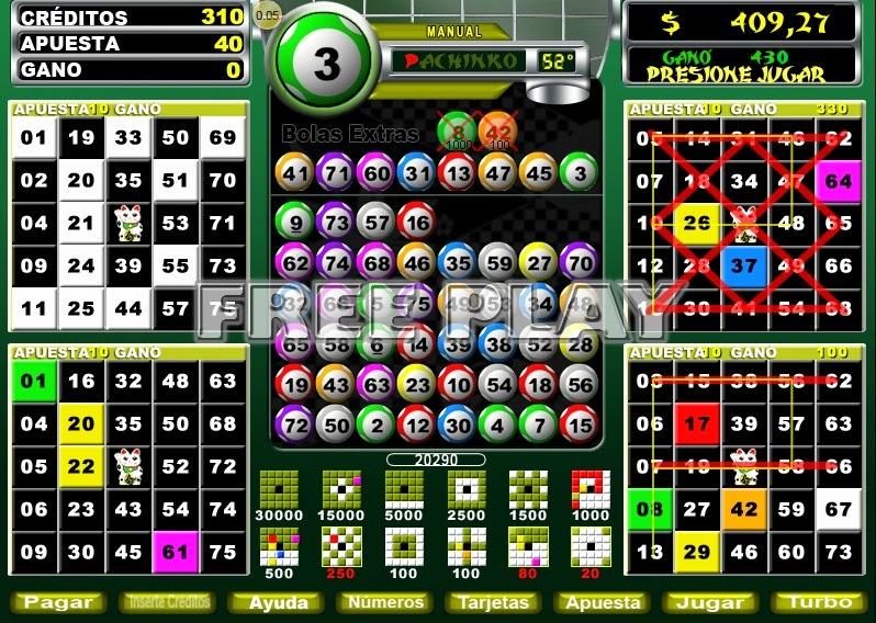 Como escoger cartones de bingo descargar juego de loteria Argentina - 26109