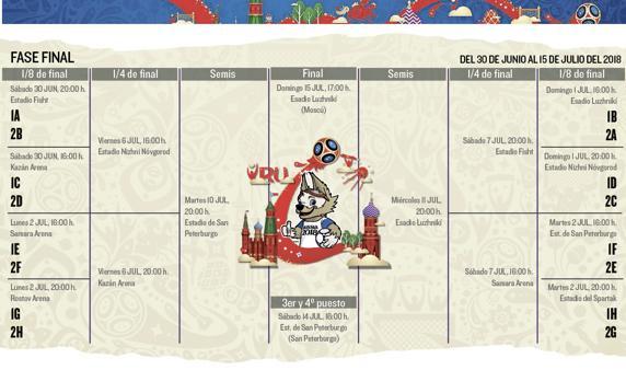Cronograma mundial juegos QuatroCasino com - 44750