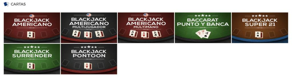 Juegos de cartas - 5174