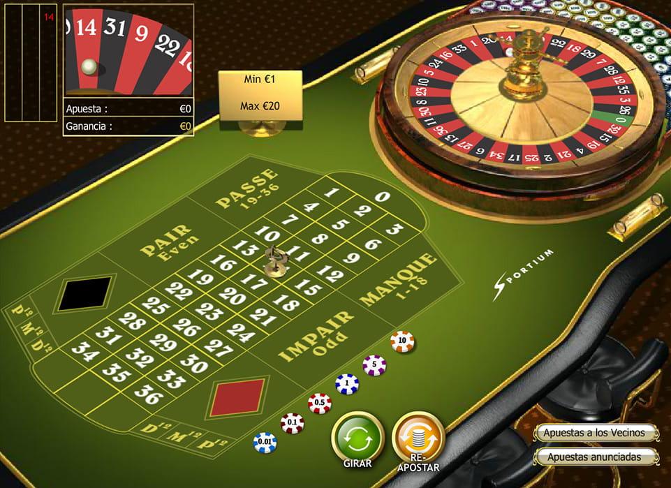 Ruleta casino mejores Portugal - 32610