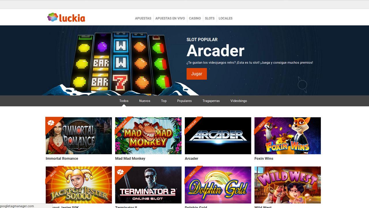Empresas casino online luckia apuestas entrar - 21790