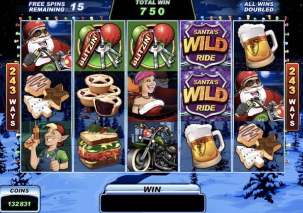 Tiradas gratis Santa's WildRide casino bingo online - 94552